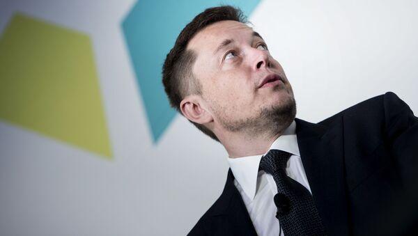 Elon Musk, fondatore e CEO di Tesla Motors - Sputnik Italia