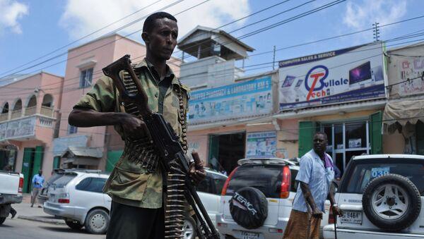 Forze dell'ordine somale sulle strade della capitale Mogadiscio - Sputnik Italia