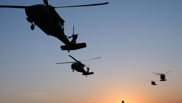 Un Sikorsky UH-60 Black Hawk - Sputnik Italia