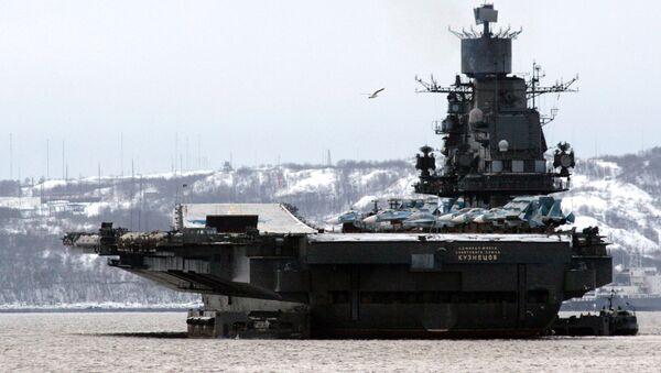 """La portaerei """"Admiral Kusnetsov"""" - Sputnik Italia"""