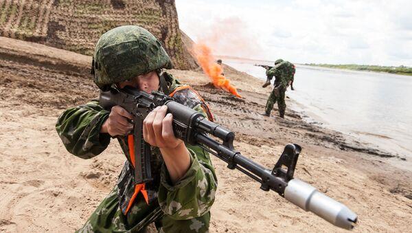 Il concorso dell'esercito russo dell'arma del genio Otkrytaya voda a Murom, Russia. - Sputnik Italia