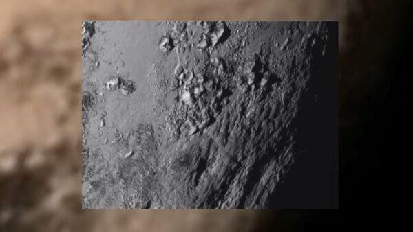 Monte di ghiaccio su Plutone - Sputnik Italia