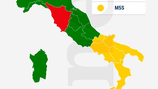 Italia, i risultati delle Elezioni europee 2019 - Sputnik Italia