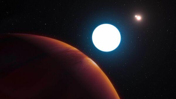 Экзопланета HD 131399Ab, вращающаяся вокруг трех солнц - Sputnik Italia