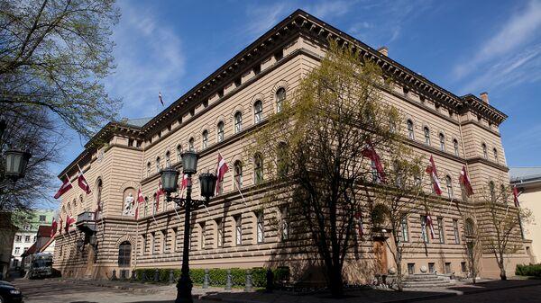 Il palazzo del Parlamento in Lettonia - Sputnik Italia