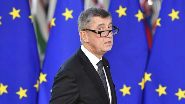Premier della Repubblica ceca Andrej Babish - Sputnik Italia