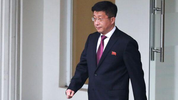 Il rappresentante speciale della Corea del Nord per i rapporti con gli USA Kim Hyok-chol - Sputnik Italia