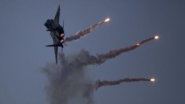 Истребитель израильских ВВС. Архивное фото - Sputnik Italia