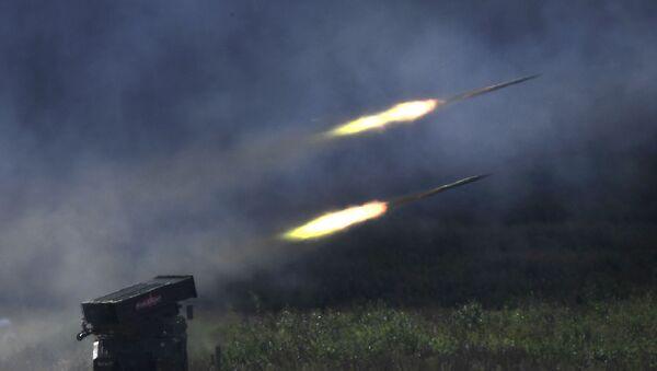 Sistema d'artiglieria russoa GRAD - Sputnik Italia