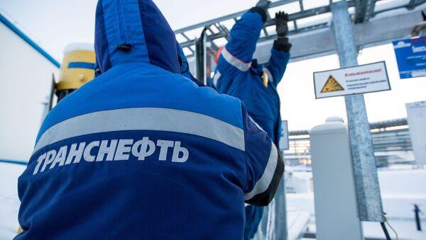Ремонтные работы на нефтеперекачивающей станции НПС-21 системы ВСТО компании Транснефть в Сковородинском районе Амурской области - Sputnik Italia