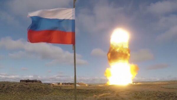 Il lancio del nuovo missile anti-balistico a Sary-Šagan, Kazakistan - Sputnik Italia