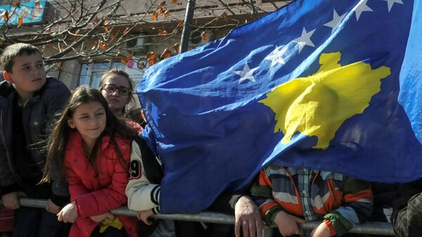 Bandiera Kosovo, Pristina - Sputnik Italia
