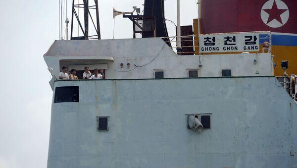 Nave da carico nordcoreana diretta a Cuba. - Sputnik Italia