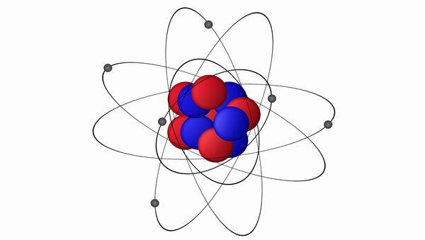 Rappresentazione di un atomo di carbonio - Sputnik Italia