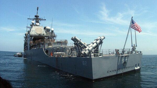 L'incrociatore della Settima Flotta USA Chancellorsville - Sputnik Italia