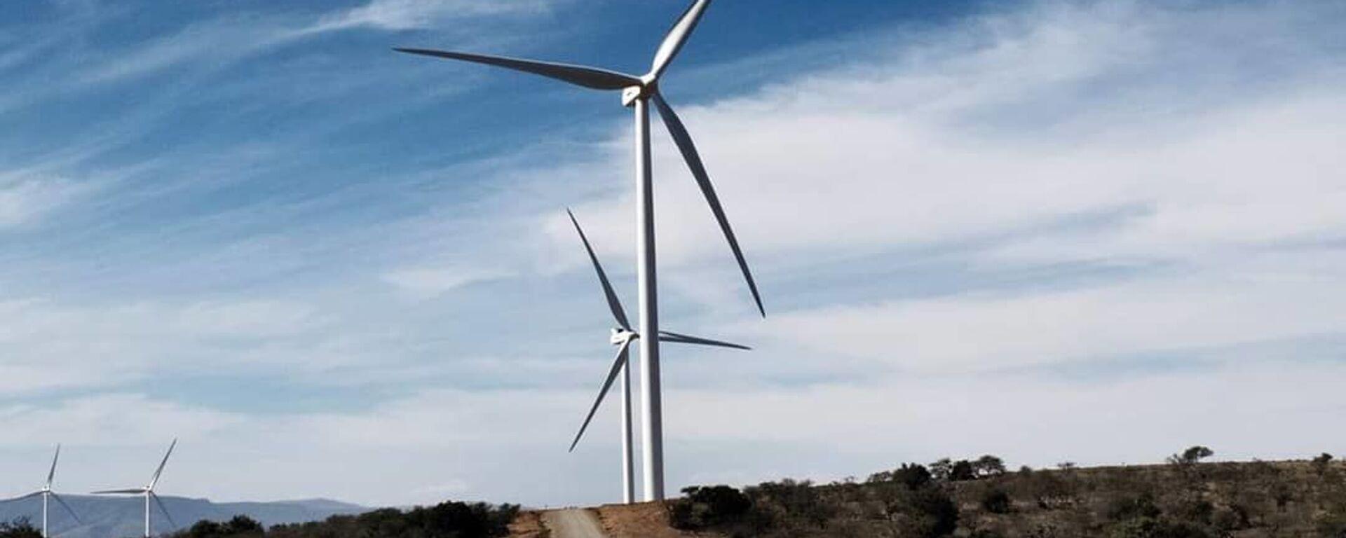 Un parco eolico di Oyster Bay realizzato da Enel Green Power in Sudafrica - Sputnik Italia, 1920, 21.09.2021