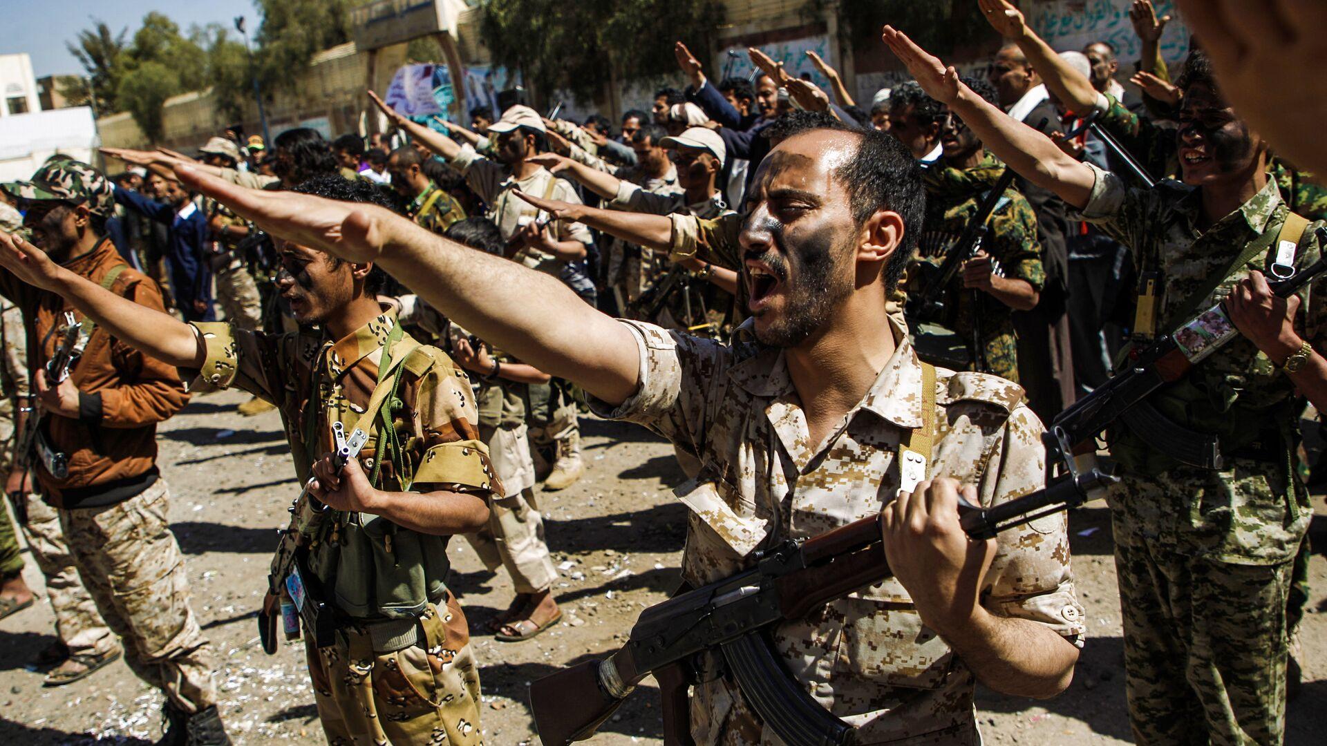 Truppe degli Huthi in Yemen - Sputnik Italia, 1920, 01.04.2021
