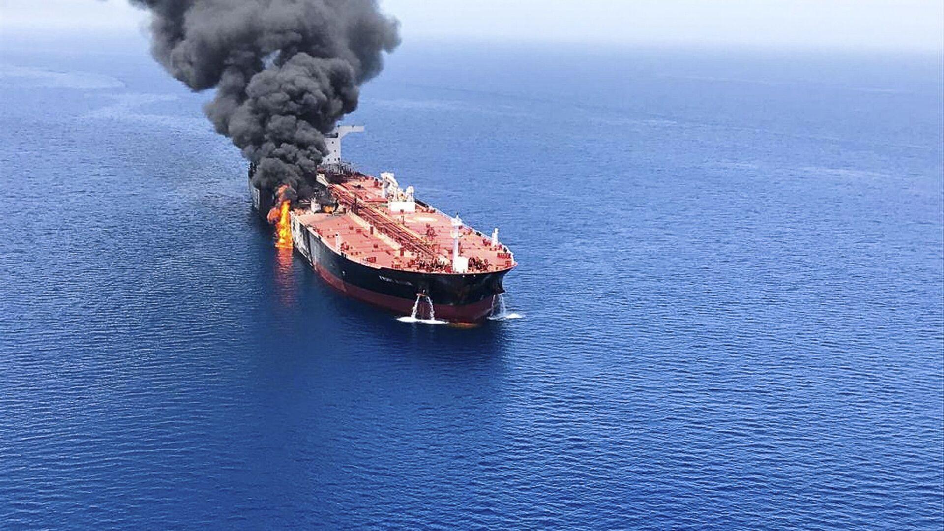 Due petroliere attaccate nel Golfo di Oman - Sputnik Italia, 1920, 30.07.2021