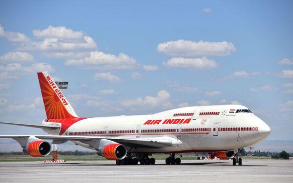 Il Boeing 747-400 del presidente indiano Narendra Modi  - Sputnik Italia