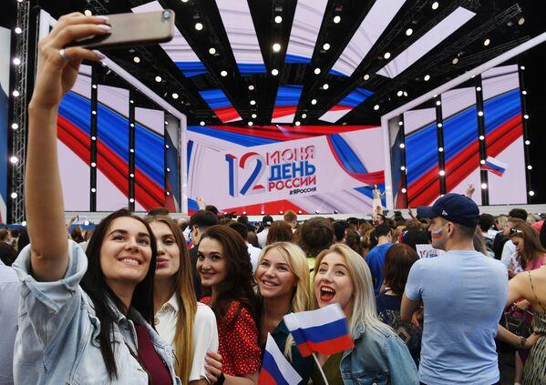 Festeggiamenti del Giorno della Russia sulla Piazza Rossa a Mosca. - Sputnik Italia