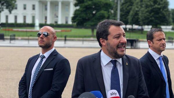 Matteo Salvini in visita negli Stati Uniti - Sputnik Italia