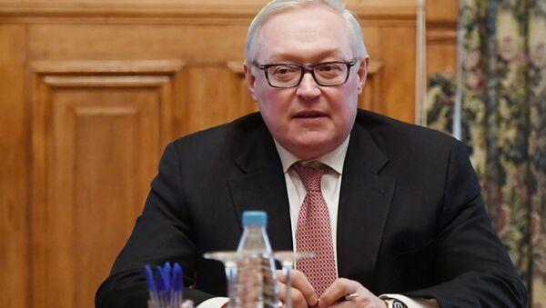 Vice ministro russo degli Affari Esteri Sergej Rjabkov - Sputnik Italia