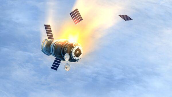Satellite in fiamme - Sputnik Italia