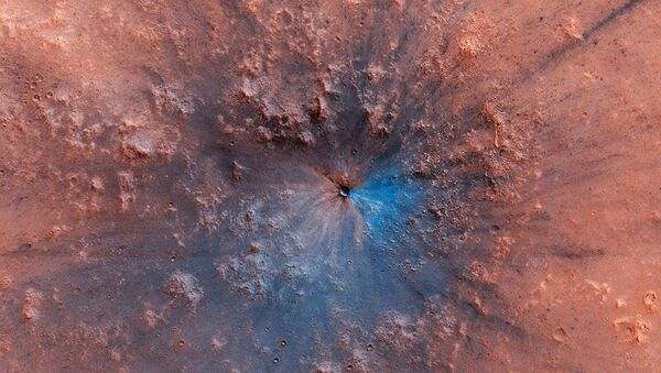 Trovate tracce di forte esplosione su Marte - Sputnik Italia
