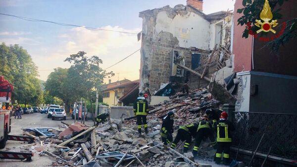 Esplosione gas a Gorizia, crolla palazzina (20.06.2019) - Sputnik Italia