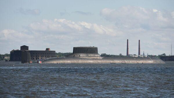 Il sottomarino nucleare della Flotta del Nord Dmitry Donskoy - Sputnik Italia