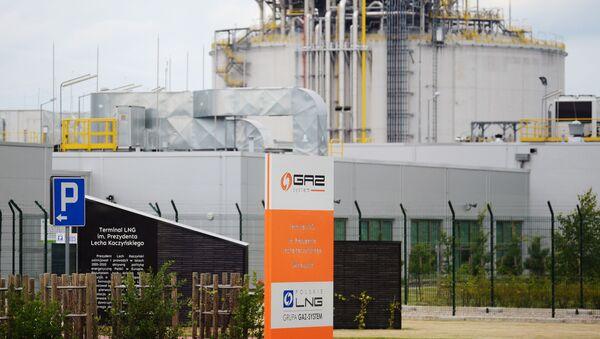 Il Terminale GNL a Świnoujście, Polonia - Sputnik Italia