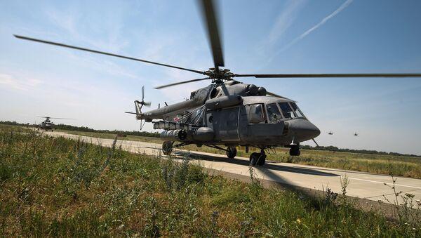 Un elicottero Mil MI-8 - Sputnik Italia