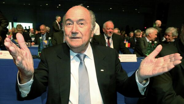 Joseph Blatter - Sputnik Italia