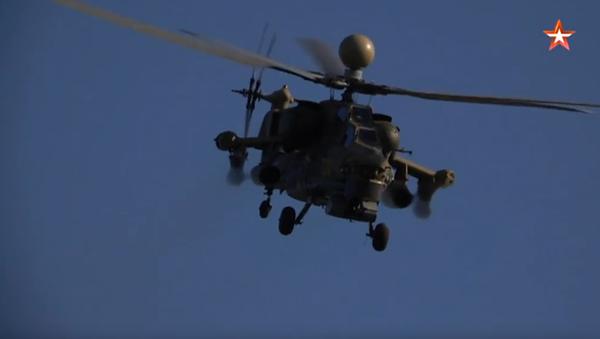 Video con le immagini del primo utilizzo del nuovo missile per l'elicottero Mi-28NM - Sputnik Italia