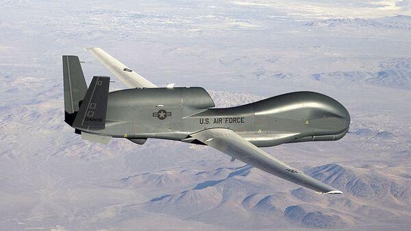 Il drone americano di ricognizione RQ-4 Global Hawk - Sputnik Italia