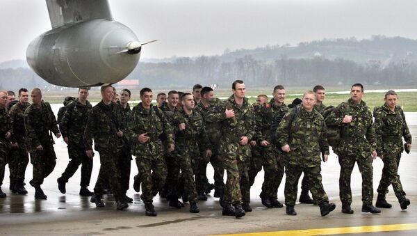 Militari britannici in Bosnia ed Erzegovina (foto d'archivio) - Sputnik Italia