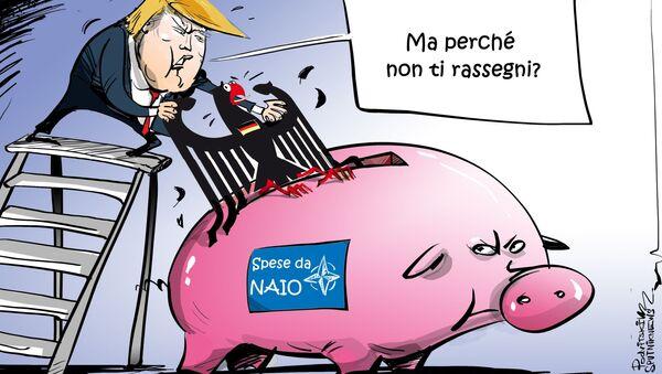 SalvadaNaio, ma mica da NATO - Sputnik Italia