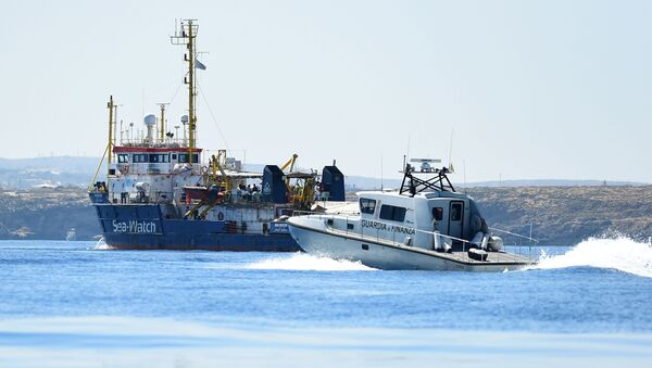 Sea Watch 3 - Sputnik Italia