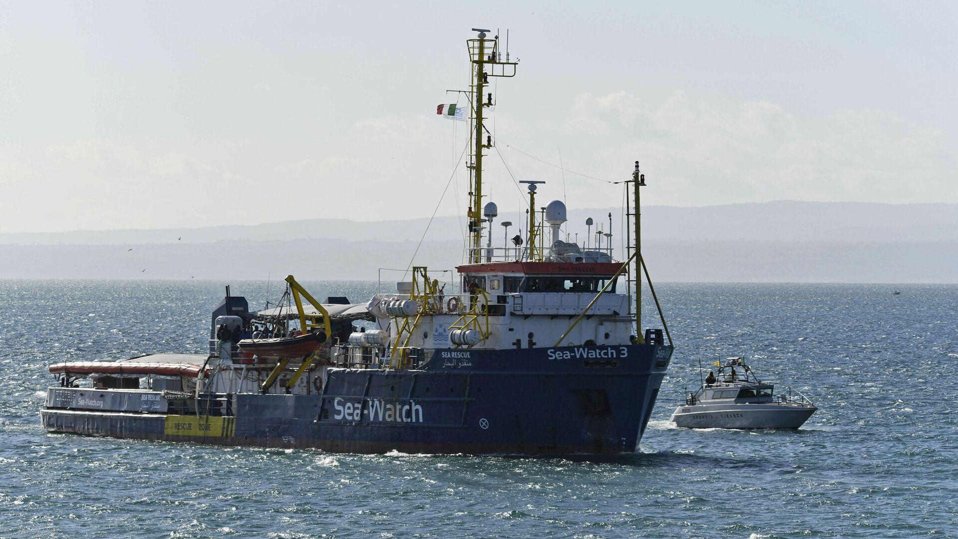Sea Watch 3 - Sputnik Italia, 1920, 01.08.2021