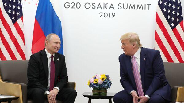 Trattative tra Putin e Trump in Giappone - Sputnik Italia
