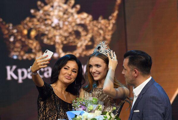 La vincitrice del concorso di bellezza Krasa Rossii  - Sputnik Italia