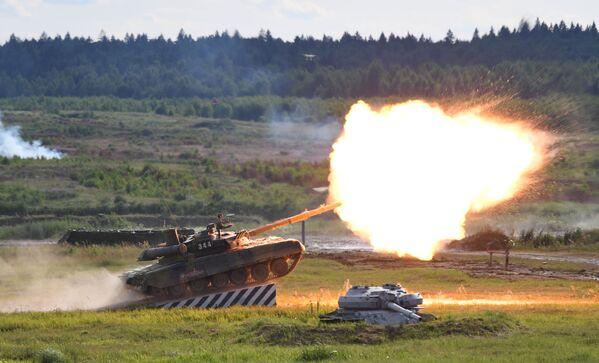 Il carro armato T-90A al forum tecnico-militare internazionale Armiya-2019. - Sputnik Italia
