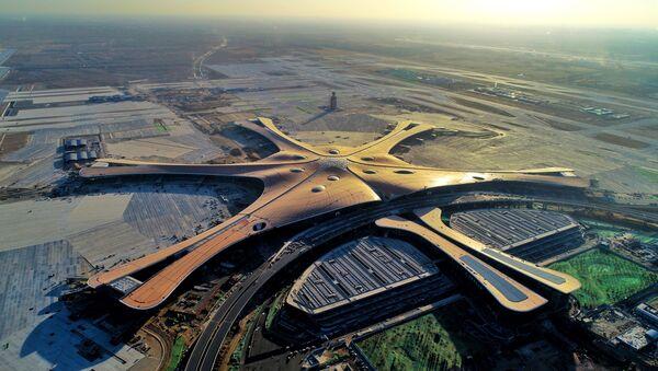 Il nuovo aeroporto di Pechino Daxing  - Sputnik Italia
