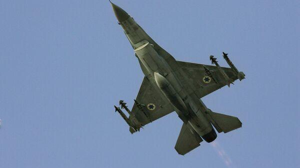 Caccia F16 delle forze armate israeliane - Sputnik Italia
