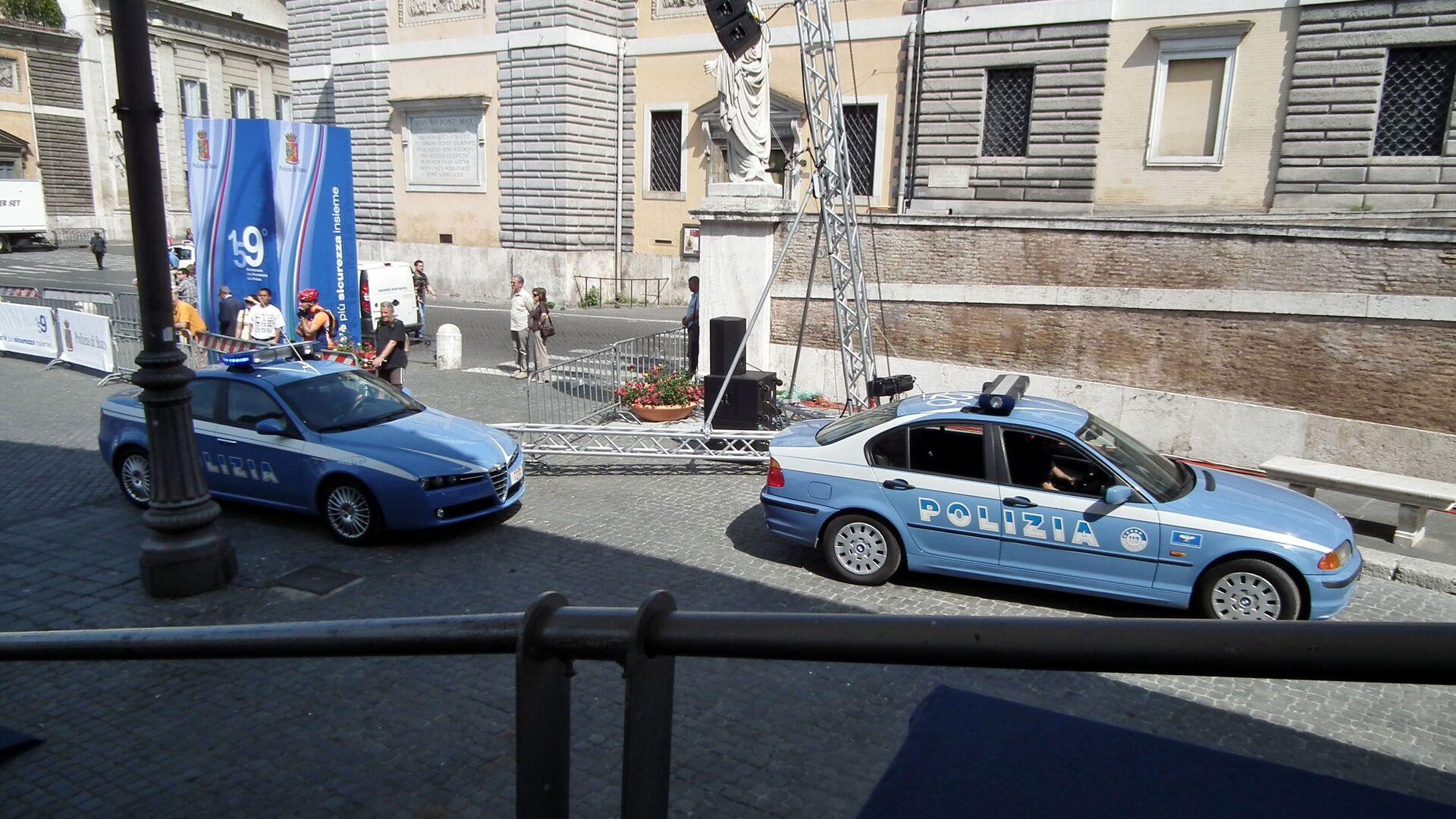 Auto della polizia italiana - Sputnik Italia, 1920, 27.05.2021