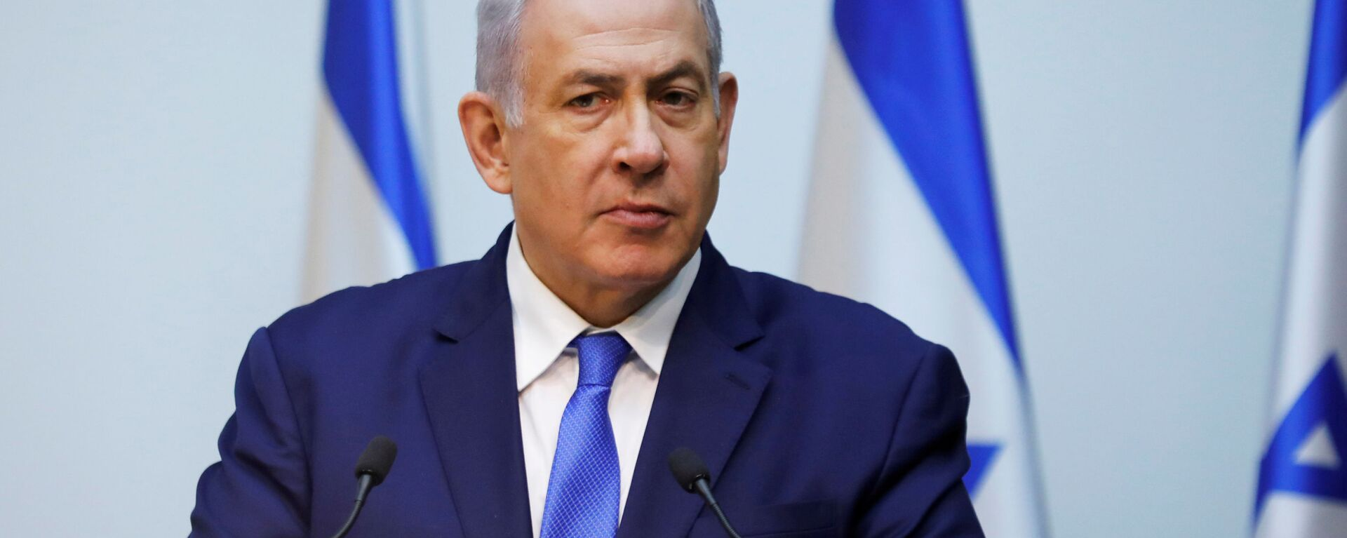 Il primo ministro di Israele Benjamin Netanyahu  - Sputnik Italia, 1920, 02.01.2020
