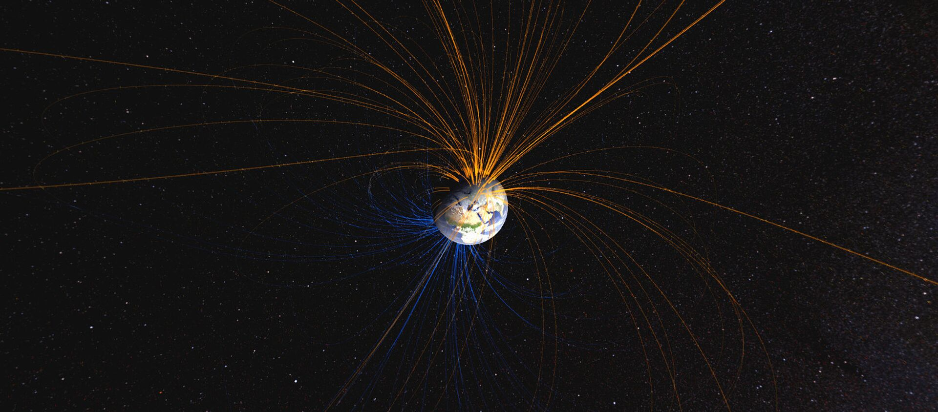 Il campo magnetico della Terra - Sputnik Italia, 1920, 08.10.2019