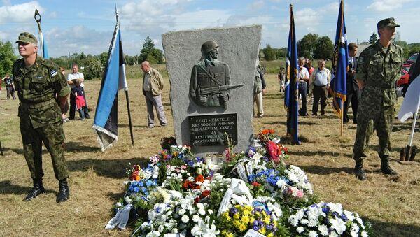 Il monumento ai legionari delle Ss - Sputnik Italia