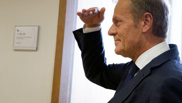 Il presidente del Consiglio europeo Donald Tusk  - Sputnik Italia