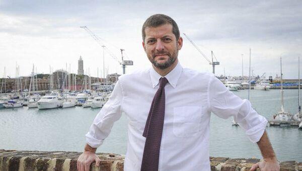 Deputato del PD Andrea Romano - Sputnik Italia